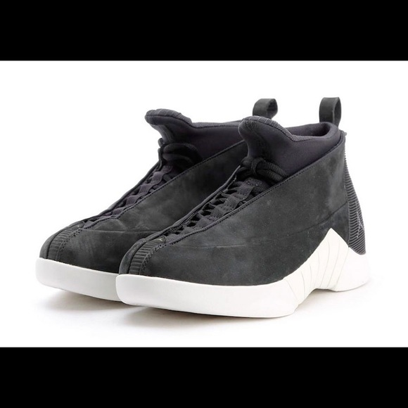 1f60f66ea34d8e Jordan Other - Nike Air Jordan PSNY Retro 15 Black Suede 10.5